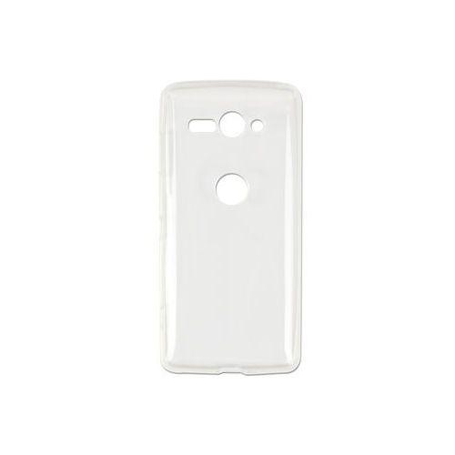 Sony Xperia XZ2 Compact - etui na telefon Ultra Slim - przezroczyste, ETSN689ULSLCLR000