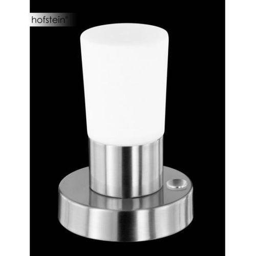Trio 8296 lampa stołowa led nikiel matowy, 1-punktowy - dworek/śródziemnomorski - obszar wewnętrzny - cristo - czas dostawy: od 3-6 dni roboczych