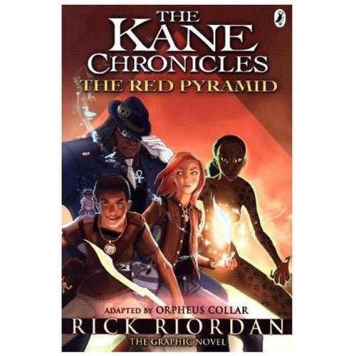 The Kane Chronicles: The Red Pyramid: The Graphic Novel (192 str.)