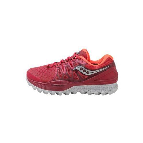 Saucony xodus iso 2 obuwie do biegania szlak berry/coral (0883799355595)