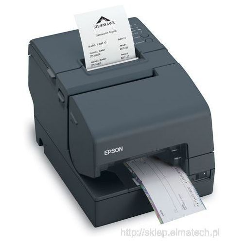 Epson TM-H 6000IV, powered-USB, obcinak, MICR, czarna, C31CB25036