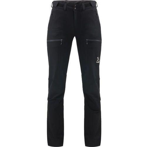 Haglöfs breccia spodnie długie kobiety czarny 36 2018 spodnie softshell