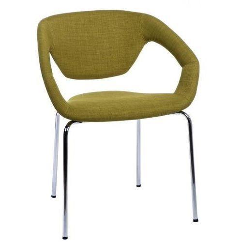 Krzesło space tapicerowany oliwkowy marki D2