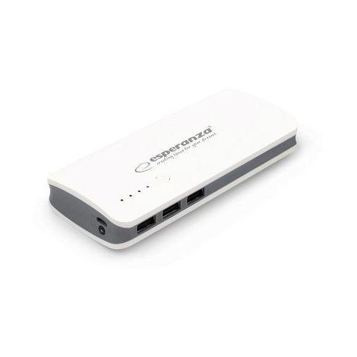 Ładowarka akumulator ESPERANZA POWER BANK RADIUM 8000mAh - szary