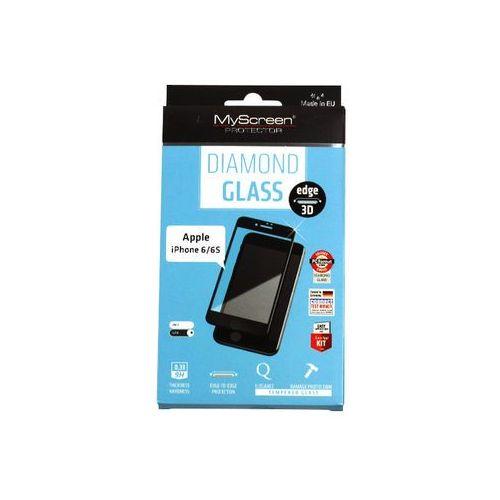 Apple iphone 7 plus - szkło hartowane diamond glass edge 3d - czarne marki Myscreen protector