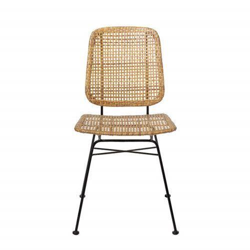 Bloomingville-Krzesło Rattanowe