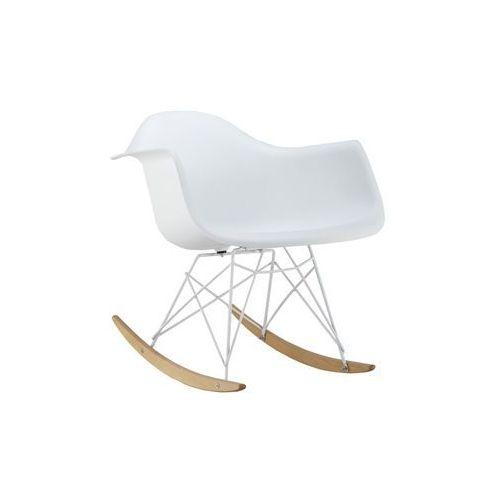 Krzesło drewniane bujane SIGNAL MONDI II - styl skandynawski, Signal