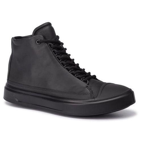Sneakersy ECCO - Flexure T-Cap M 50327401001 Black, kolor czarny