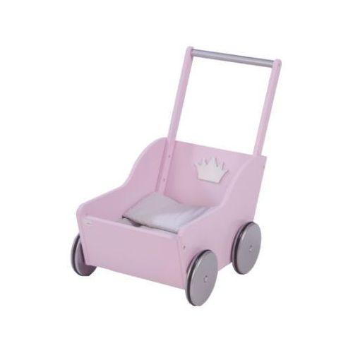 roba Wózek dla lalki Prinzess Sophie, Rosé, lakierowany