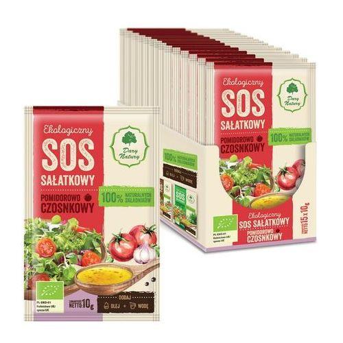 Dary natury - inne bio Sos sałatkowy pomidorowo - czosnkowy bio 10 g - dary natury