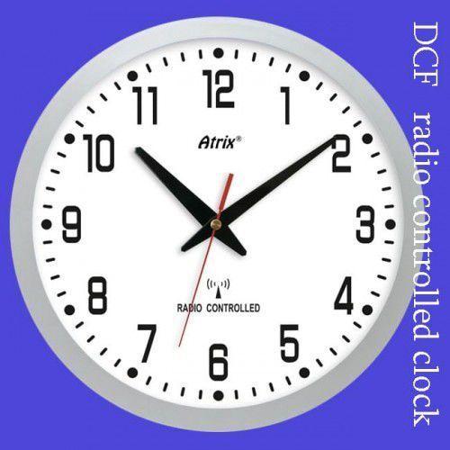 Zegar ścienny sterowany radiowo #2 marki Atrix