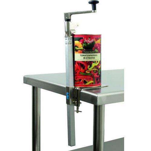 Przemysłowy otwieracz do puszek carra | 180x70x(h)660mm marki Saro