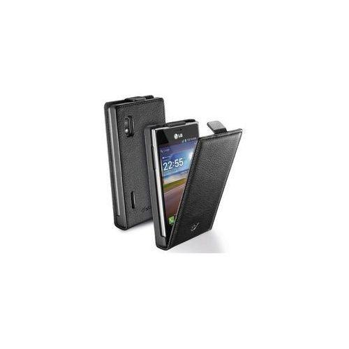 Cellular Line Etui Flap Essential do LG L5 II - czarne (CFLAPESSENLGL5IIBK) Darmowy odbiór w 21 miastach! (8018080195044)