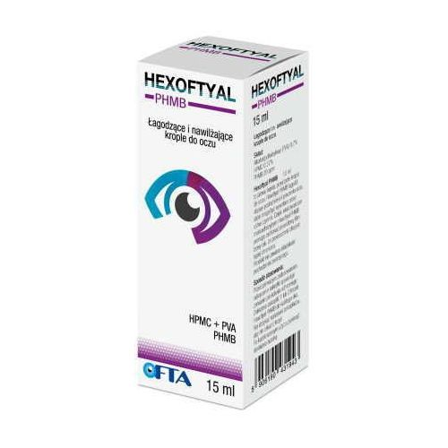 Hexoftyal krople do oczu 15 ml marki Ofta