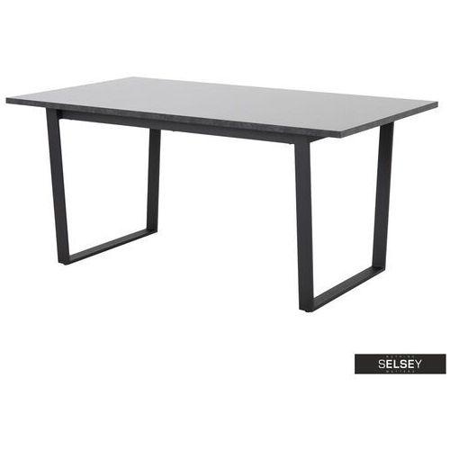 Selsey stół adhafera czarny 160x90 cm (5903025415864)
