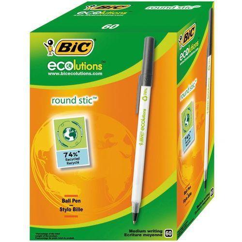 Długopis Bic Ecolutions Round Stic czarny