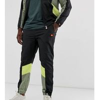 ellesse Plus Jose jogger with green and yellow in black - Black, w 2 rozmiarach