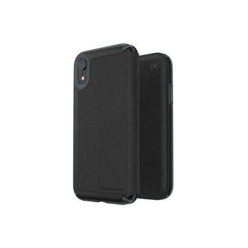 Speck Etui presidio folio do iphone xr z kieszenią na karty + stand up czarny (0848709058348)