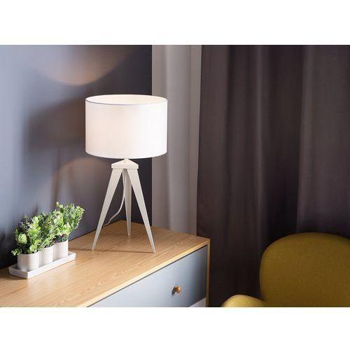 Lampa stołowa śnieżnobiała 55 cm STILETTO (4260586358650)