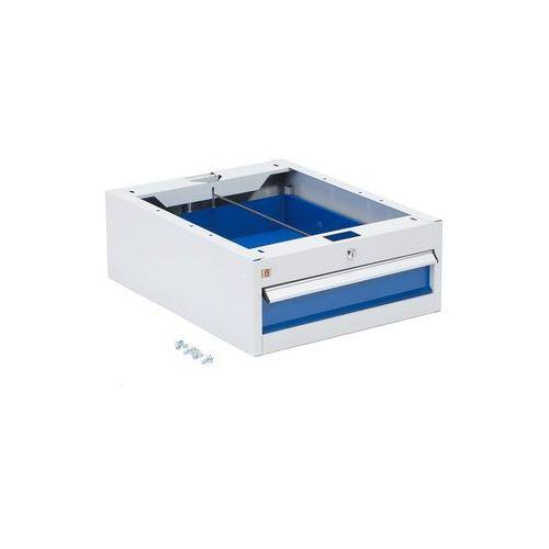Szafka narzędziowa solid, do stołu roboczego, 1 szuflada, 150x490x670 mm marki Aj produkty
