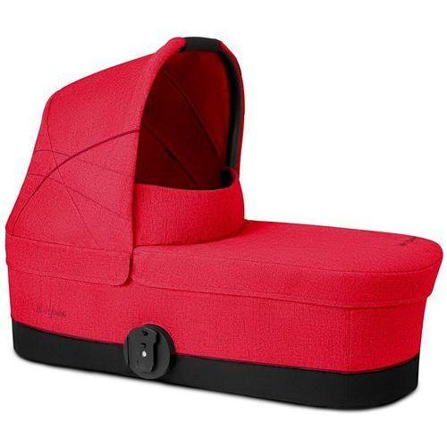 Cybex gondola do wózka carry cot s 2018, rebel red