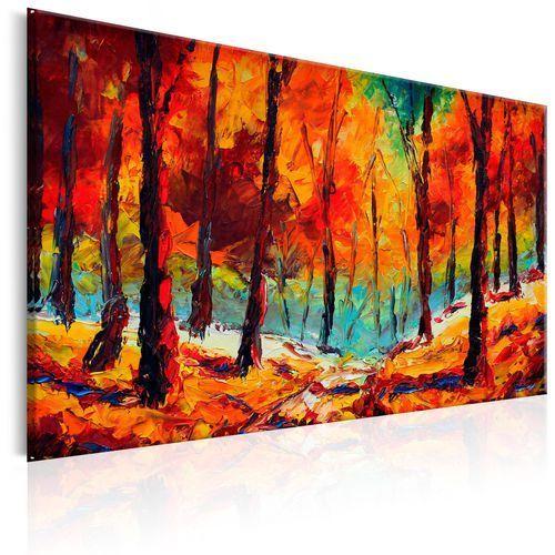 Obraz malowany - Artystyczna jesień