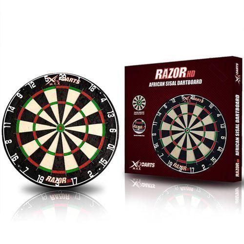 XQmax Darts Tarcza do rzutek Razor HD, sizal, 45,5 cm QD6000020