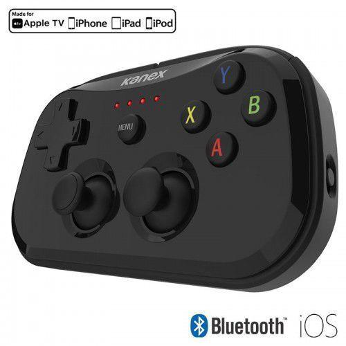 Kanex goplay sidekick - przenośny kontroler do gier na ios + etui podróżne z funkcją standu (space grey/black)