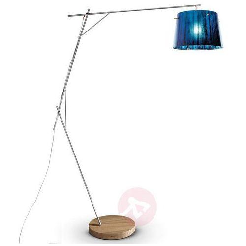 Slamp woody lampa stojąca niebeieski, 1-punktowy - nowoczesny - obszar wewnętrzny - woody - czas dostawy: od 8-12 dni roboczych
