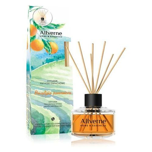 Allverne Dyfuzor Patyczki zapachowe Brazylijska Pomarańcza 50 ml (5901845531092)