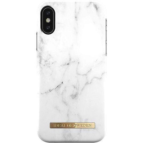 Ideal of sweden fashion case etui obudowa do iphone xs / iphone x (white marble) marki Ideal of sweden ab