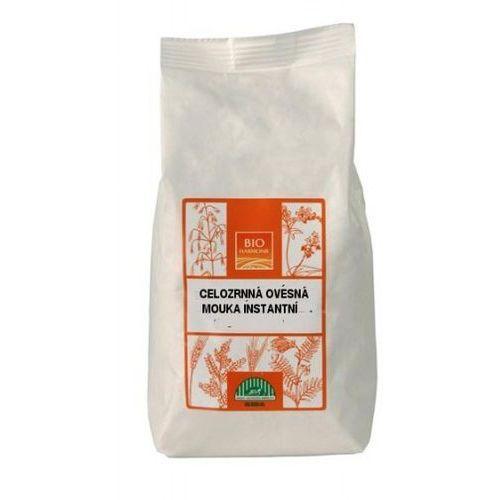 Mąka owsiana pełnoziarnista błyskawiczna BIO 300g - BIOHARMONIE