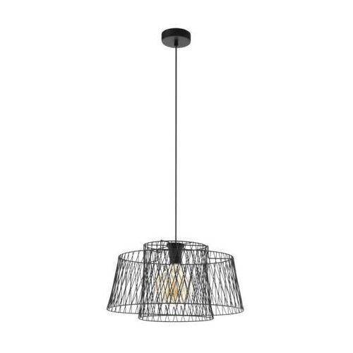ALLERBY 49996 LAMPA WISZĄCA VINTAGE LOFT EGLO, kolor czarny