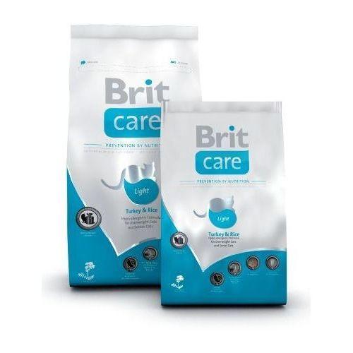 care cat light turkey & rice niskokaloryczna karma dla kotów marki Brit