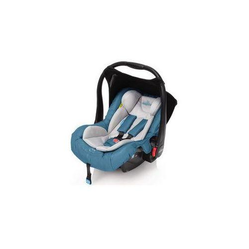 Fotelik samochodowy leo 0-13kg (turkusowy) marki Baby design