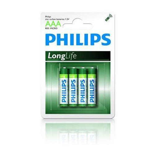 bateria lr3 aaa longlife 1.5v (4 szt.) marki Philips