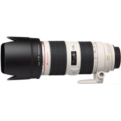 Obiektyw CANON EF 70-200MM 2.8L IS USM II (2751B005) z kategorii obiektywy fotograficzne