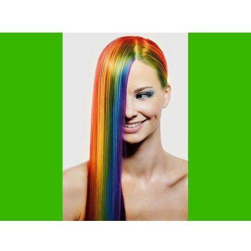 Go Zmywalny kolorowy spray do włosów 125 ml - zielony