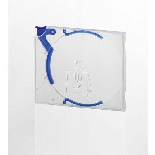 Etui Durable Quickflip Stadard na płytę CD/DVD niebieskie 10 sztuk 5288-06 (4005546504841)