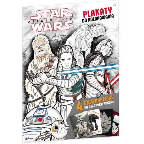 Star wars plakaty do kolorowania - praca zbiorowa marki Ameet