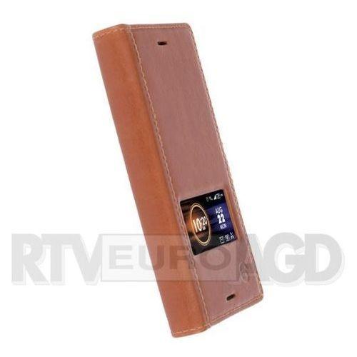 sigtuna smartcase sony xperia x compact (brązowy) wyprodukowany przez Krusell