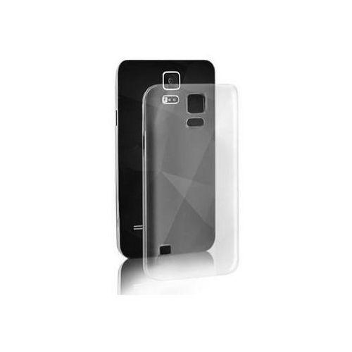 Etui silikon do iphone 5/5s przezroczysty marki Qoltec
