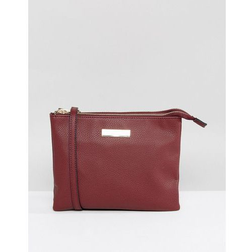 Carvela Rolo Across Body Bag - Red, kolor czerwony