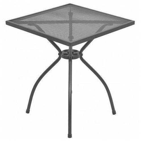 Stolik ogrodowy lub do kawiarni calme - antracytowy marki Elior