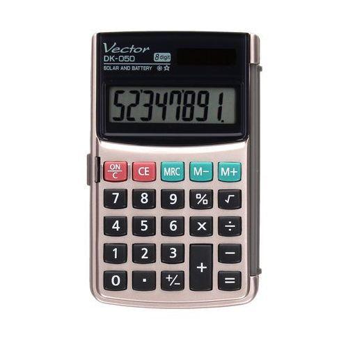 Kalkulator 8pozycyjny DK050 Vector. Najniższe ceny, najlepsze promocje w sklepach, opinie.