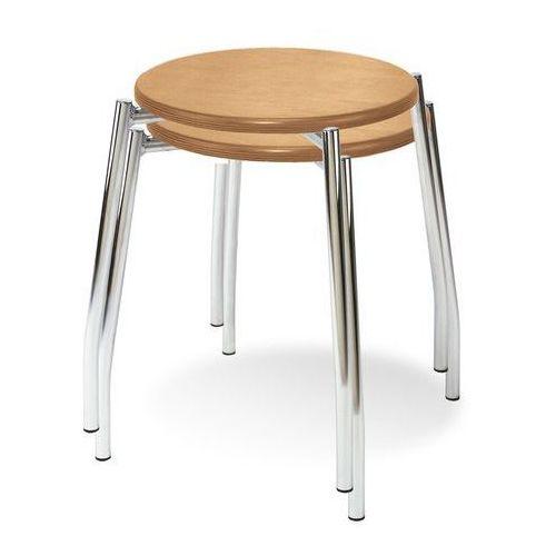Taboret grappo wood chrom/ wenge marki Nowy styl.
