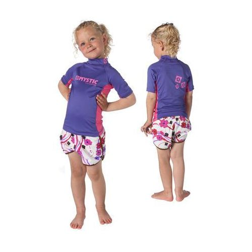 Lycra Mystic 2015 Star Rashvest Kids S/S Purple
