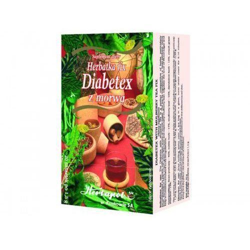 HERBATKA FIX DIABETEX Z MORWĄ - produkt z kategorii- Pozostałe zdrowie