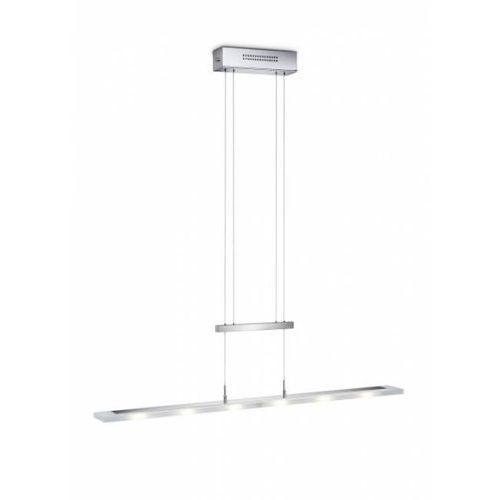 lampa wisząca led chrom, 6-punktowe - nowoczesny - obszar wewnętrzny - knapstein - czas dostawy: od 2-3 tygodni marki Knapstein