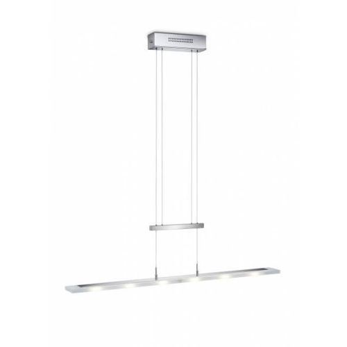 lampa wisząca led chrom, 6-punktowe - nowoczesny - obszar wewnętrzny - knapstein - czas dostawy: od 3-6 dni roboczych marki Knapstein